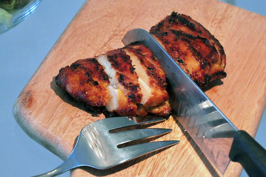 10126 Фоторецепт: Теплый салат с курицей