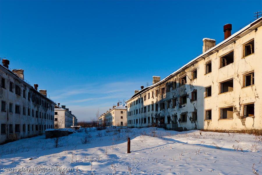 10133 Заброшенный город Кадыкчан на Чукотке