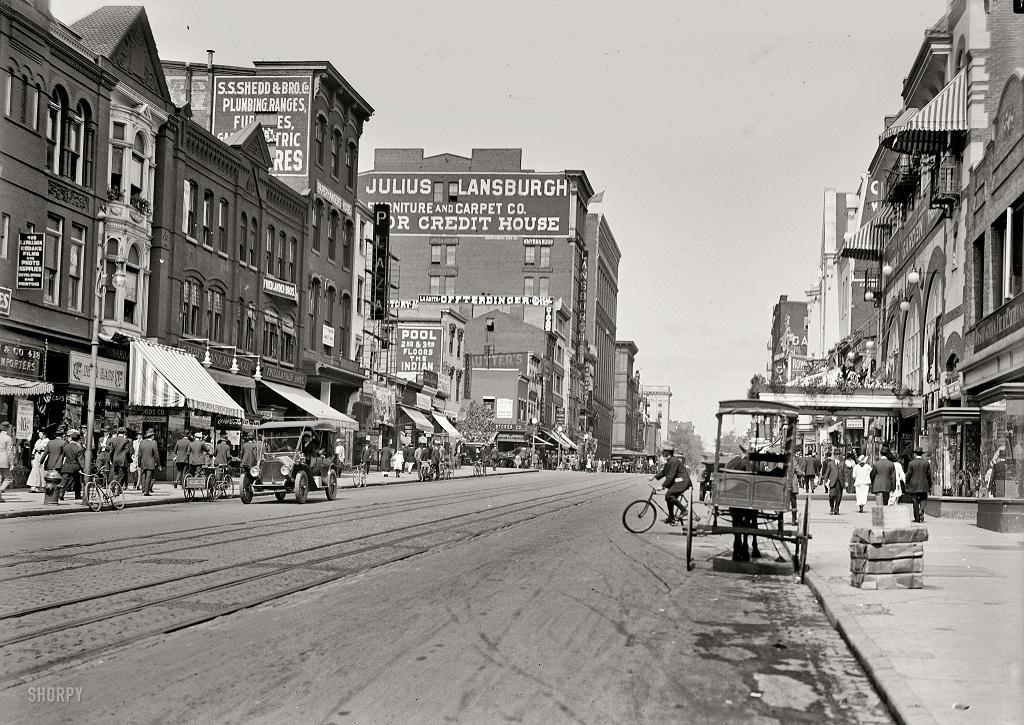 10165 Американские мегаполисы сто лет тому назад