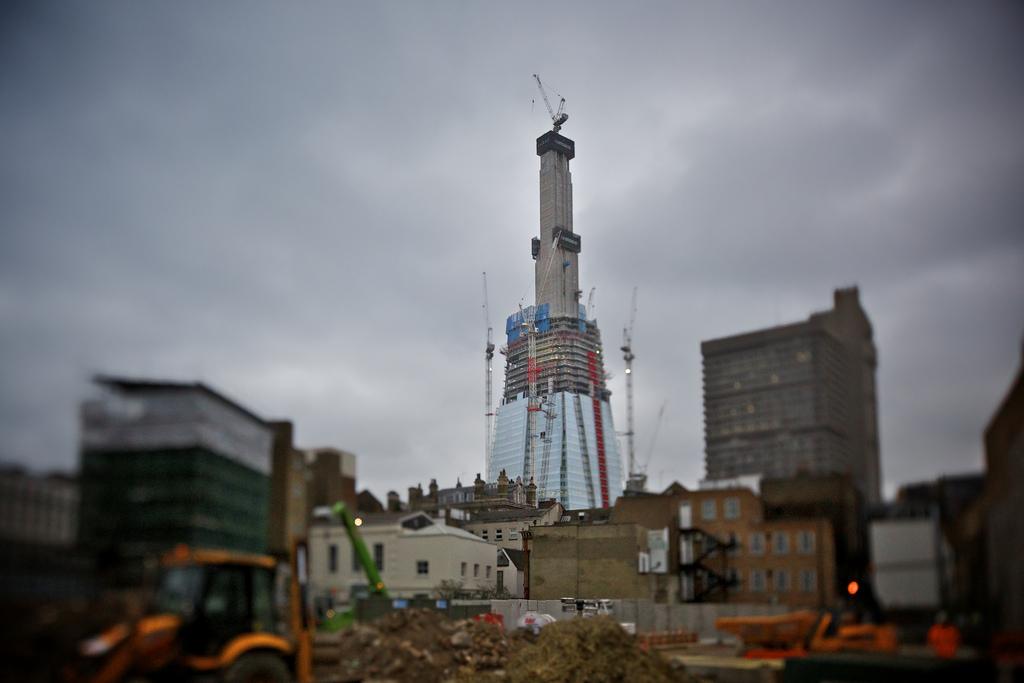 1043 Строительство небоскреба Shard London Bridge