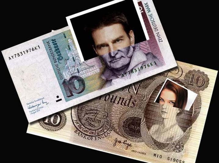 1054 Звездные банкноты