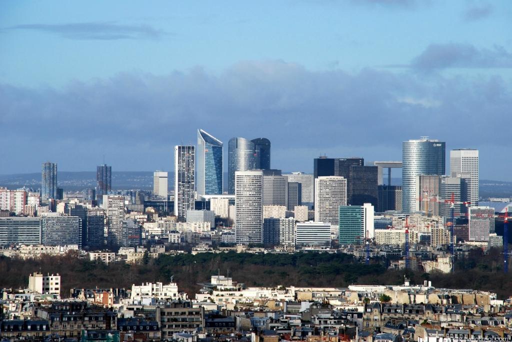 1096 Как выглядит Париж с Эйфелевой башни?