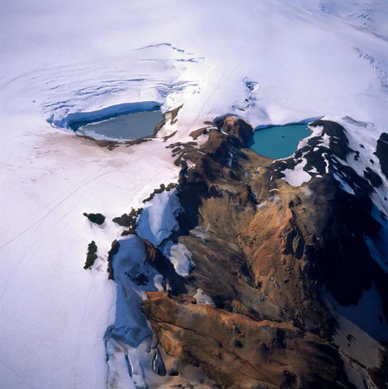 11134 Голубые айсберги и ледники Исландии