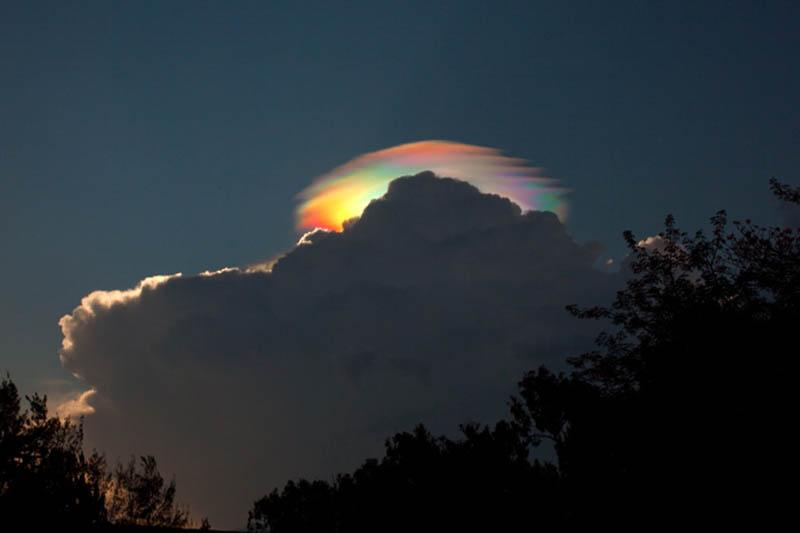 Невероятные облачные образования