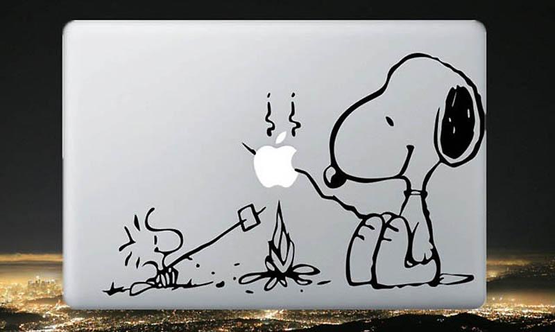 11169 50 креативных наклеек на MacBook
