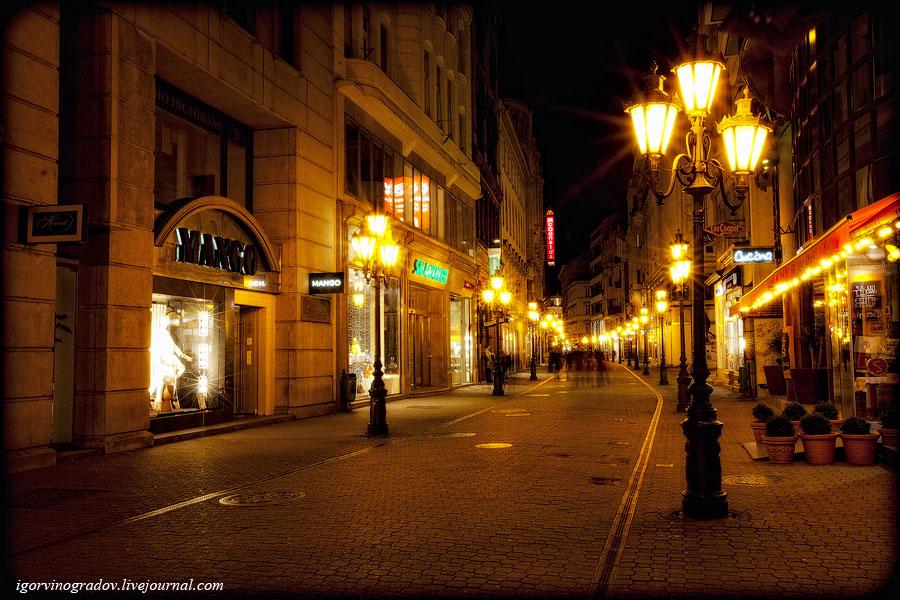 11184 Ночной Будапешт