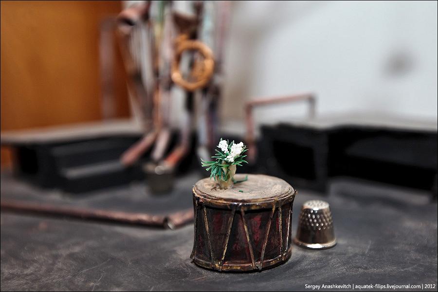 11190 Закулисье или Выставка миниатюрных театральных декораций