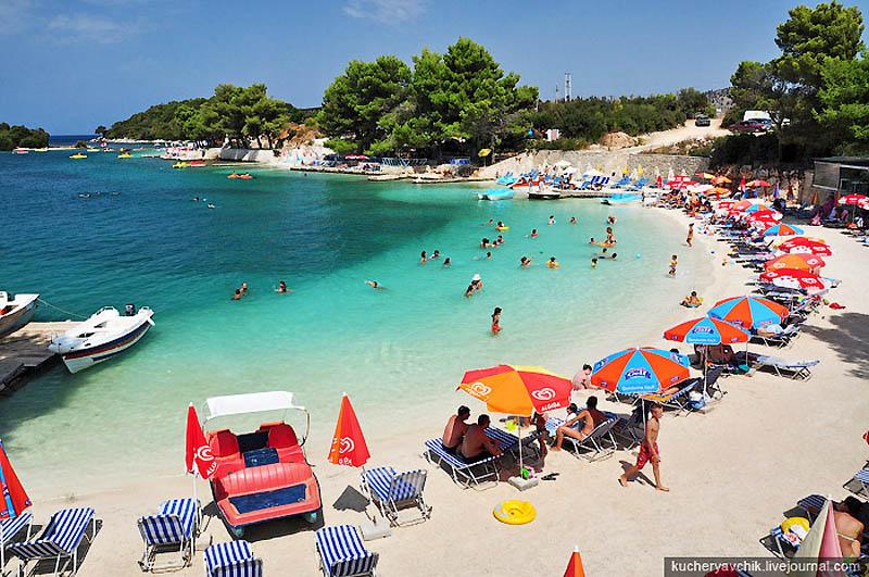Хорватские пляжи секс