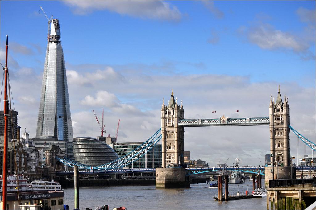 1163 Строительство небоскреба Shard London Bridge