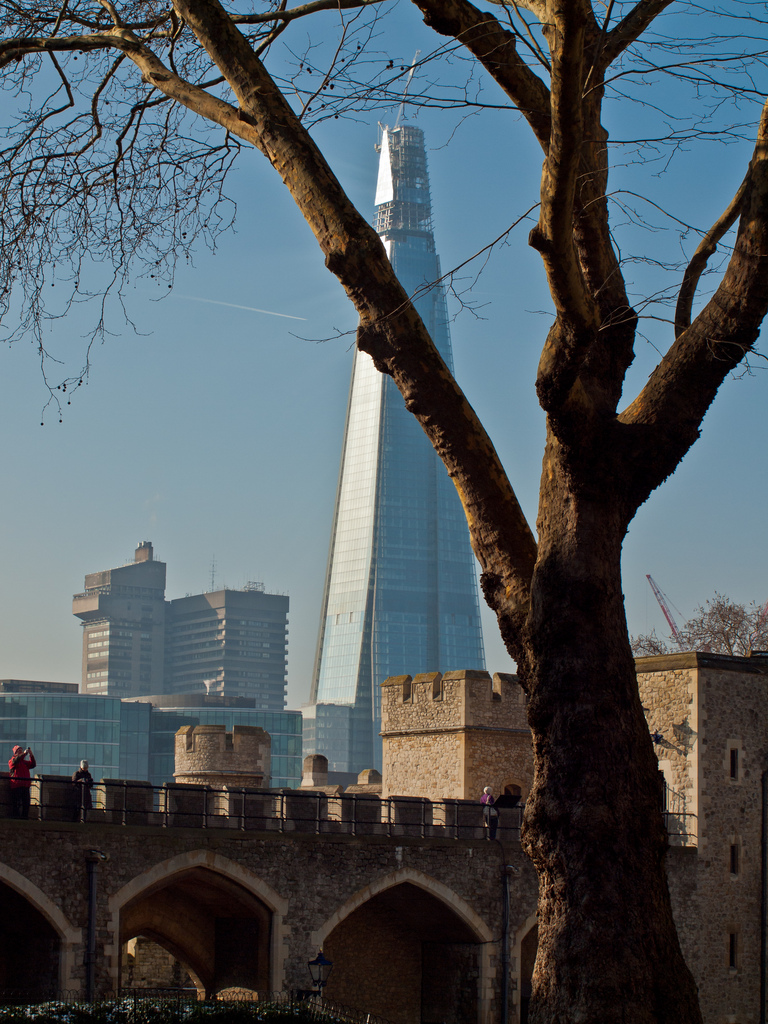 1164 Строительство небоскреба Shard London Bridge
