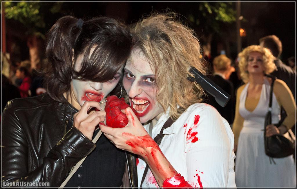1175 Зомби на улицах Тель Авива – Zombie Walk Tel Aviv