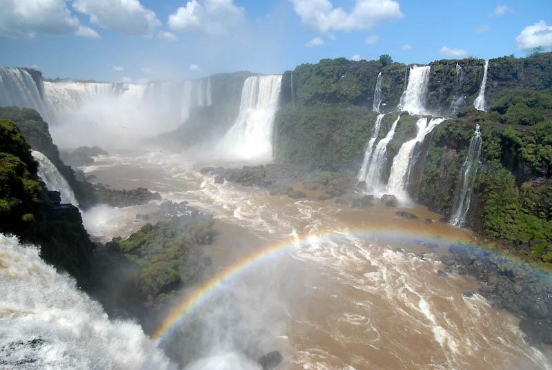 Водопад игуасу большая вода на