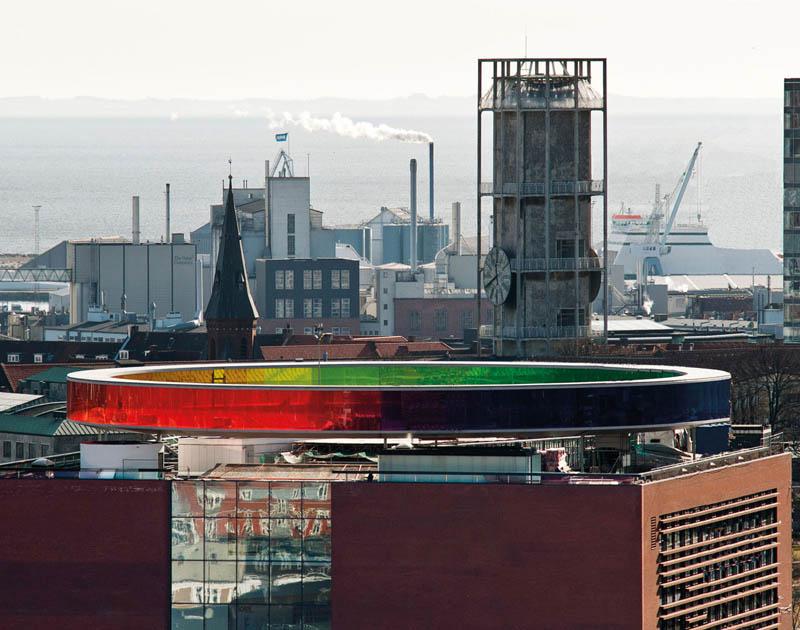 1181 Новая достопримечательность Дании: Радужная панорама