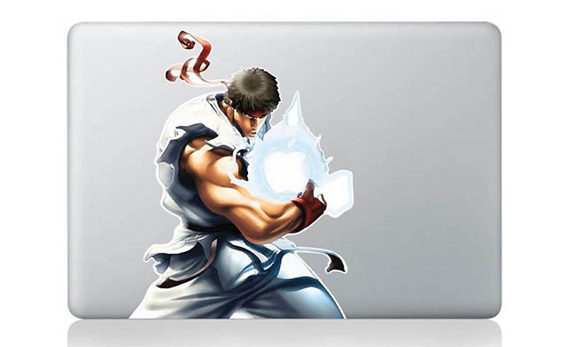 12158 50 креативных наклеек на MacBook