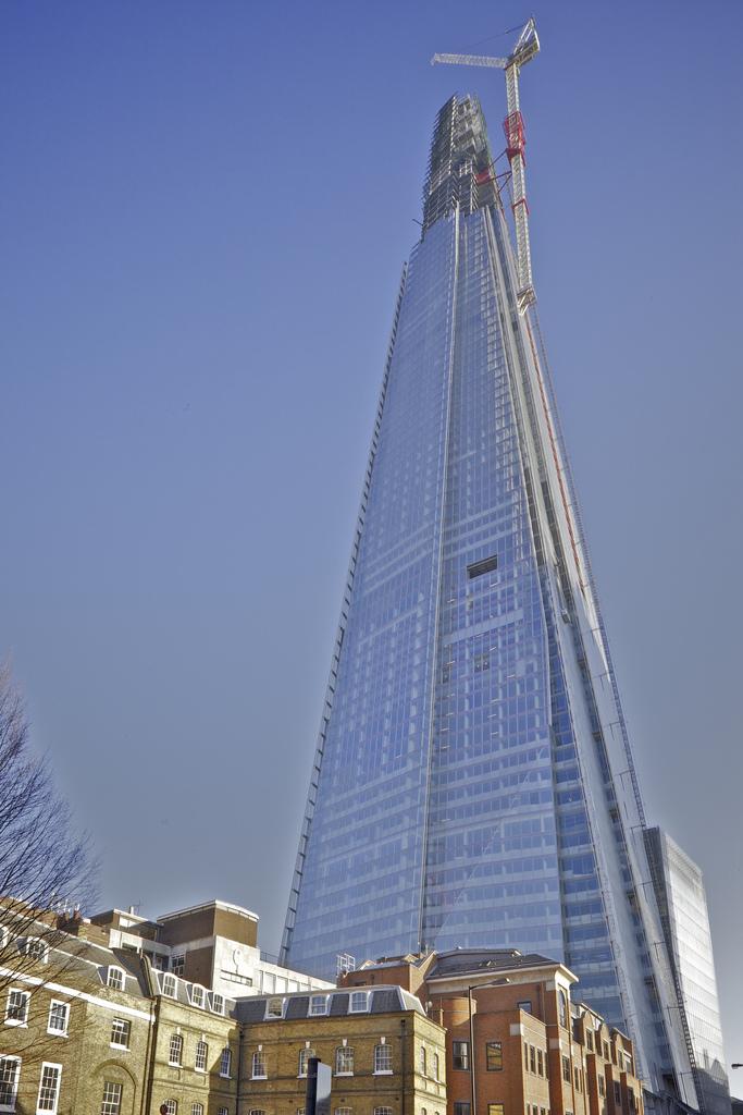 1243 Строительство небоскреба Shard London Bridge