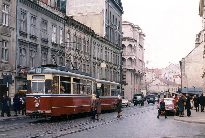 1258 Советский Львов на цветных фото