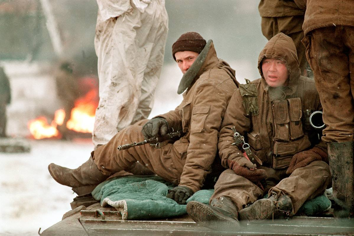 12756780 Первая Чеченская война в фотографиях Александра Неменова