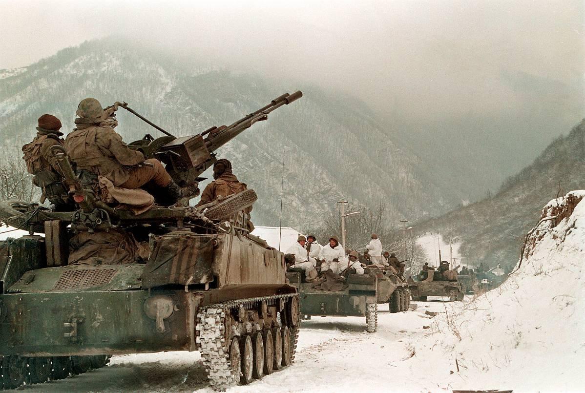 12756783 Первая Чеченская война в фотографиях Александра Неменова