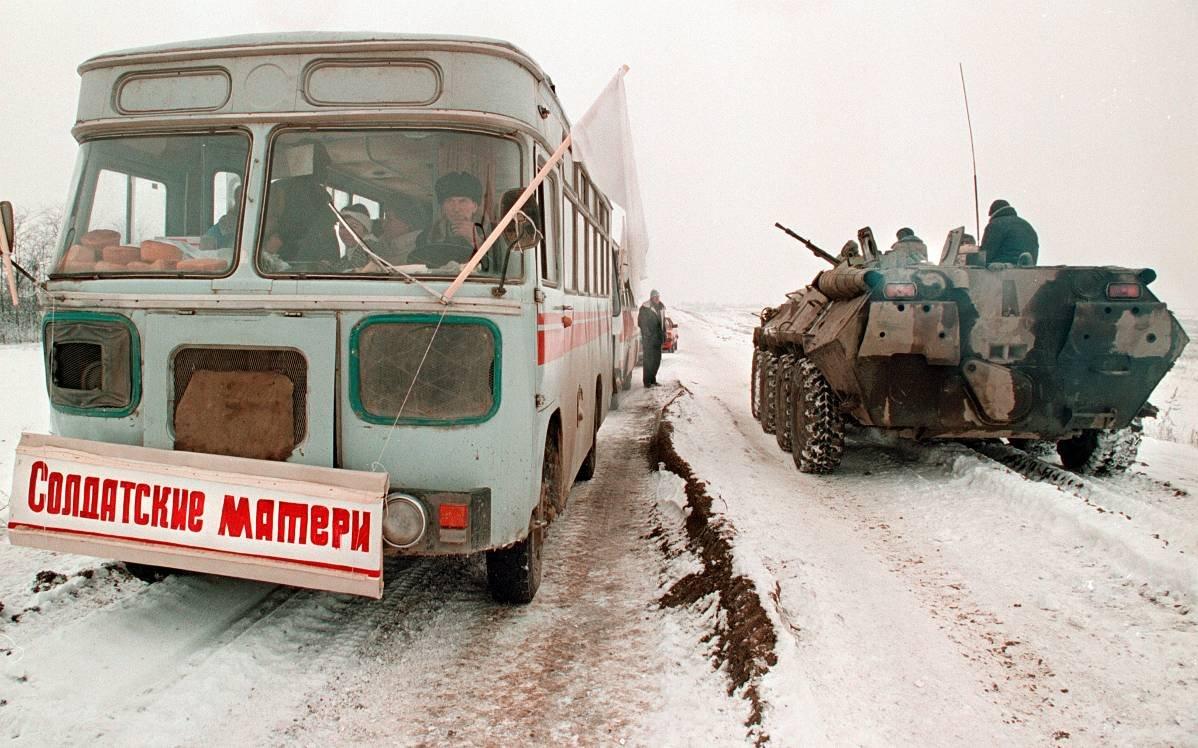 12756784 Первая Чеченская война в фотографиях Александра Неменова
