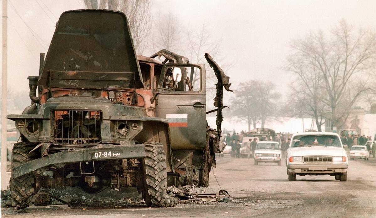 12756788 Первая Чеченская война в фотографиях Александра Неменова