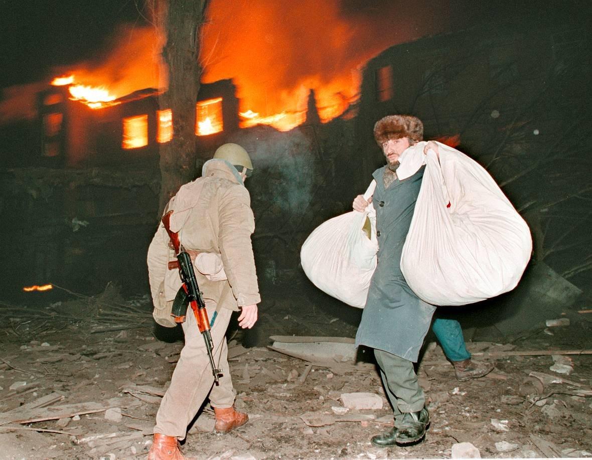1275678C Первая Чеченская война в фотографиях Александра Неменова