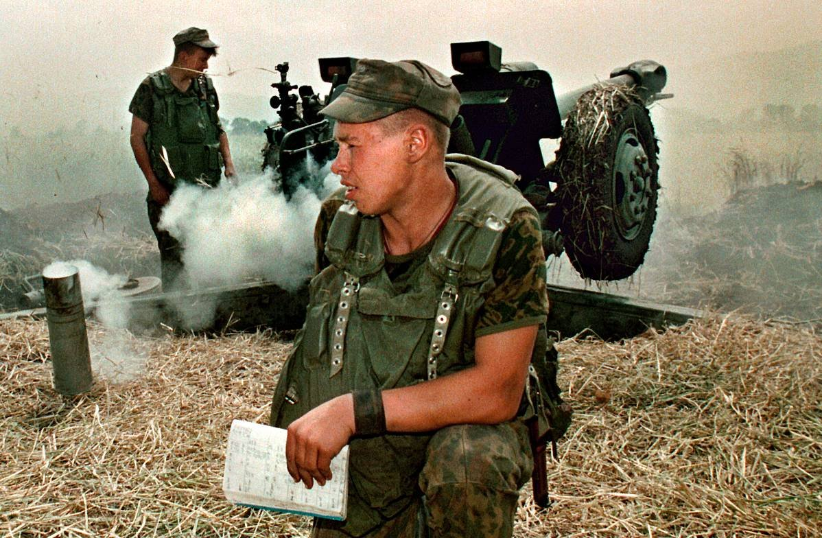 1275678E Первая Чеченская война в фотографиях Александра Неменова