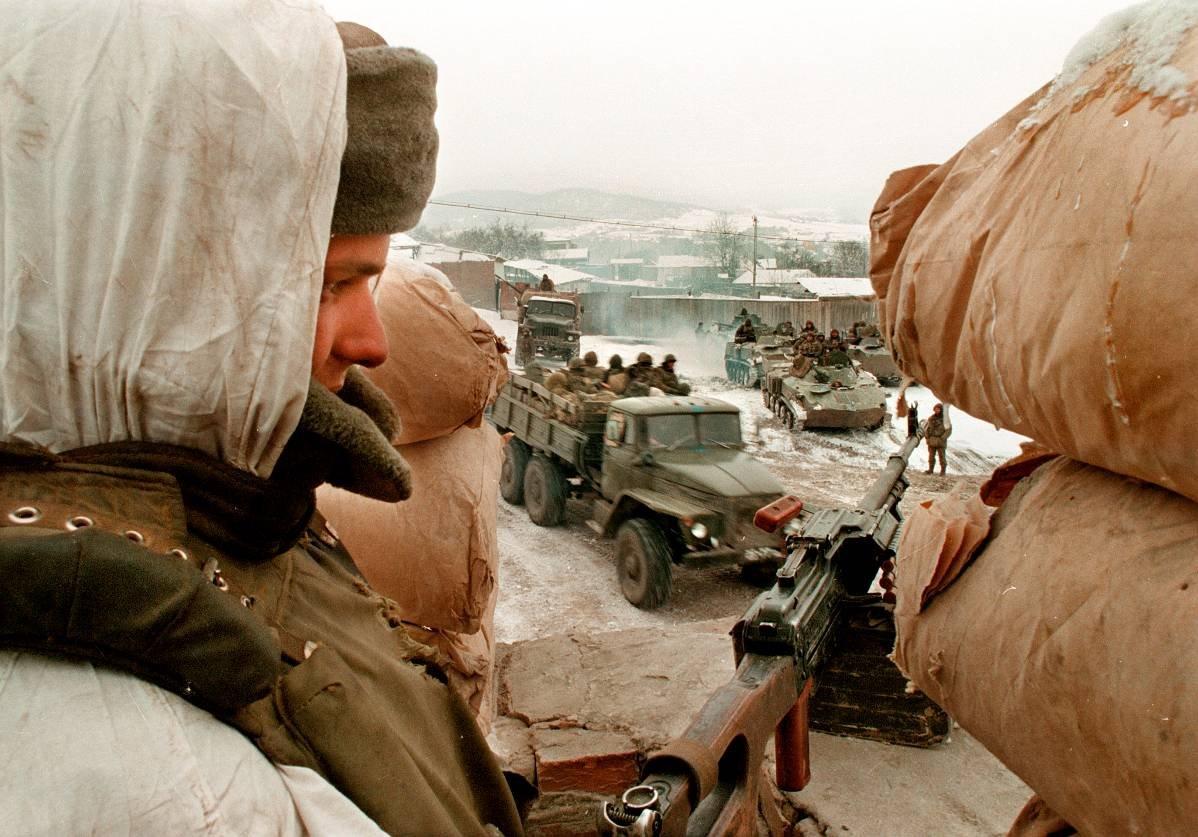 1275678Q Первая Чеченская война в фотографиях Александра Неменова