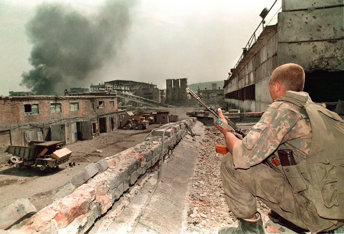 1275678W Первая Чеченская война в фотографиях Александра Неменова