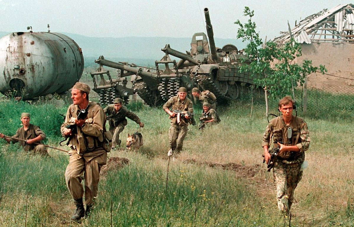 12756796 Первая Чеченская война в фотографиях Александра Неменова