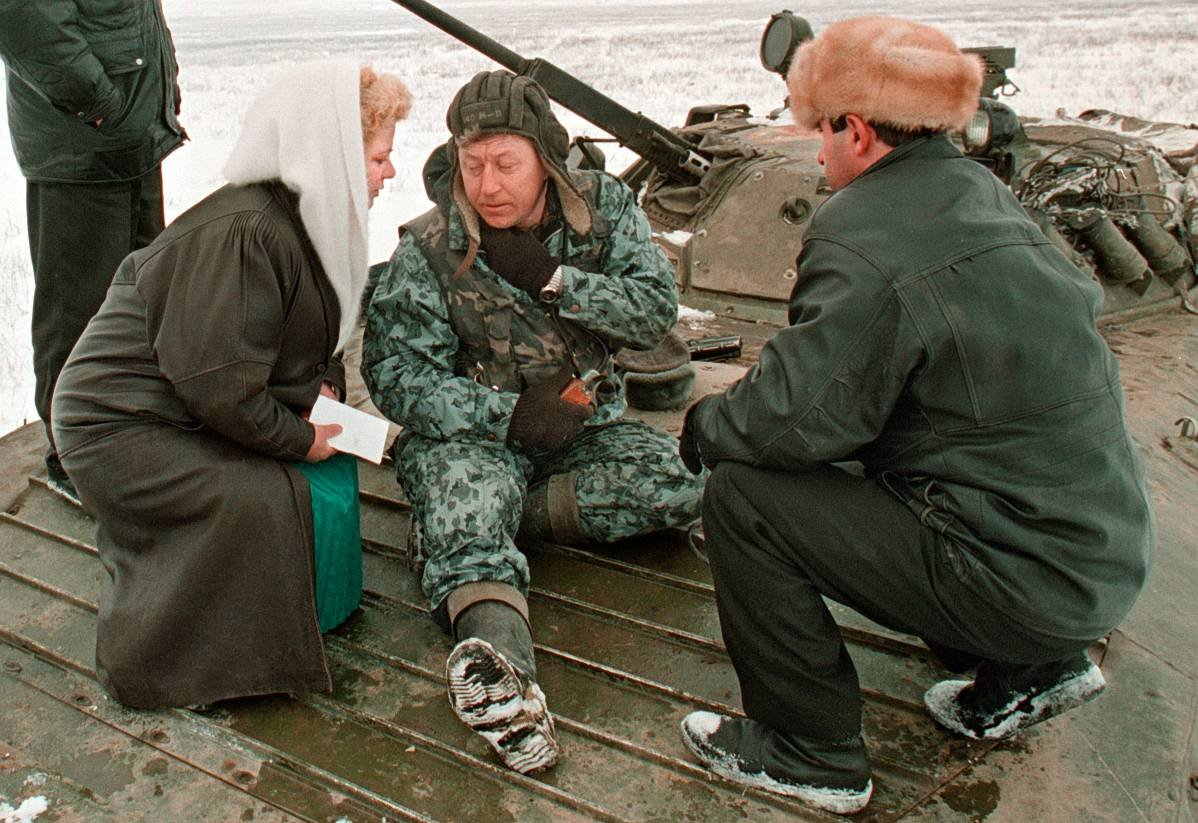 12756799 Первая Чеченская война в фотографиях Александра Неменова