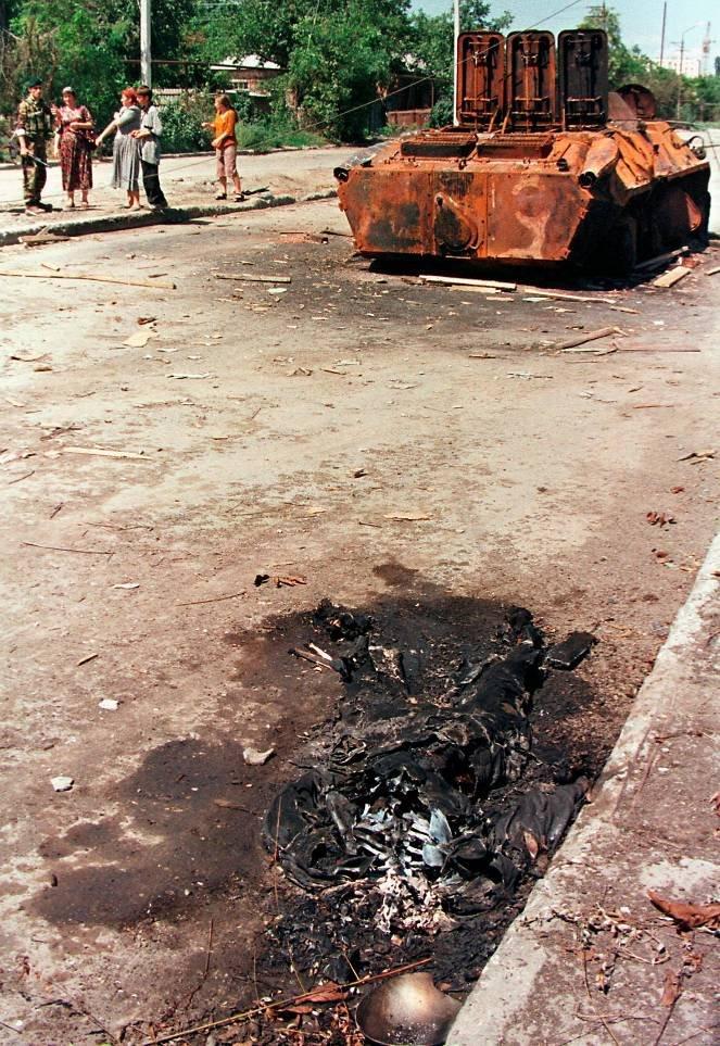 1275679F Первая Чеченская война в фотографиях Александра Неменова