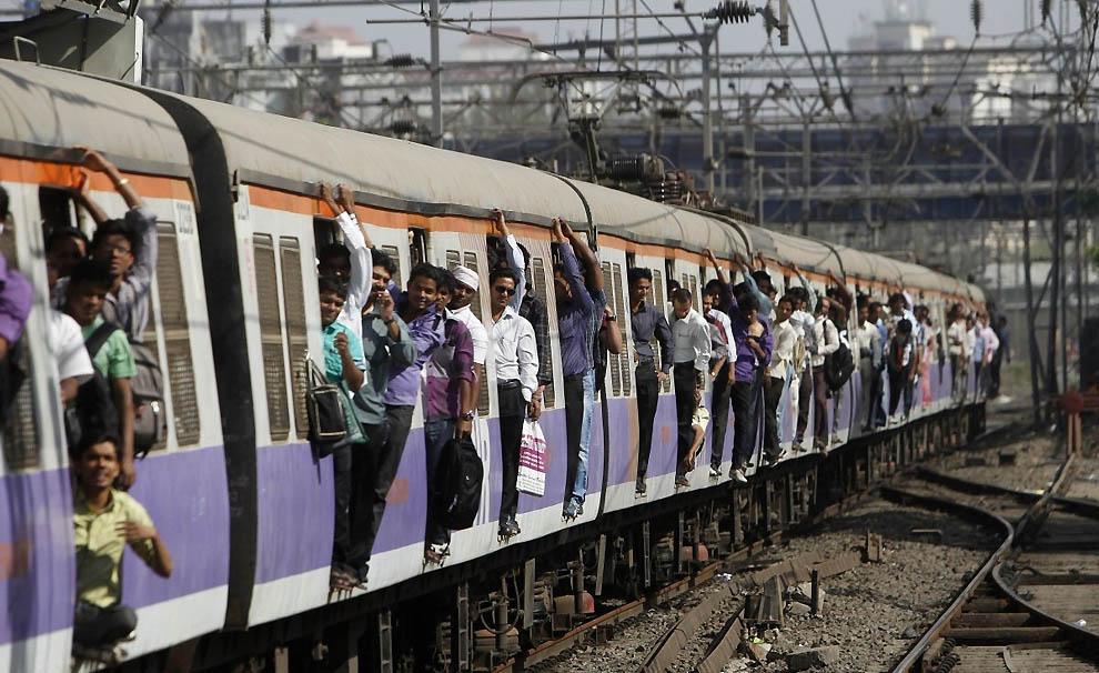 1277 Индийская железная дорога   перегруженный гигант в действии