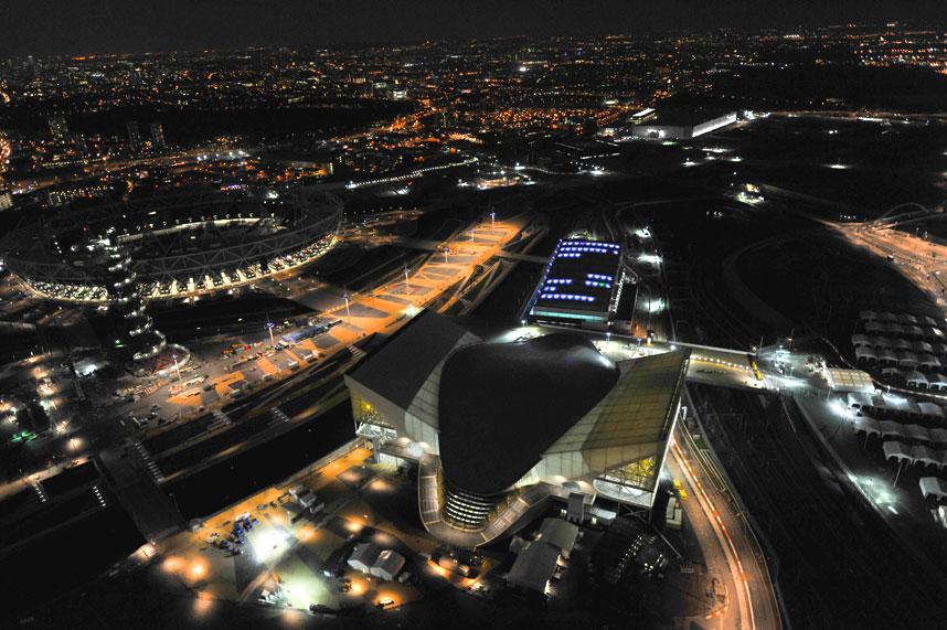 1293 Энергопотребляющий Лондон с высоты птичьего полета