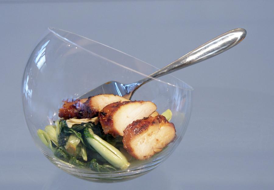 13108 Фоторецепт: Теплый салат с курицей