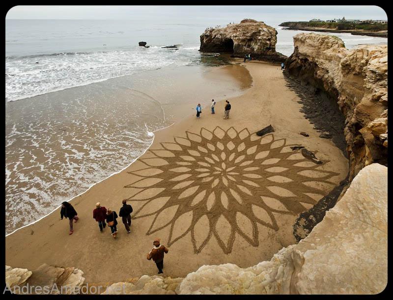 13121 Шедевры из песка Андреса Амадора