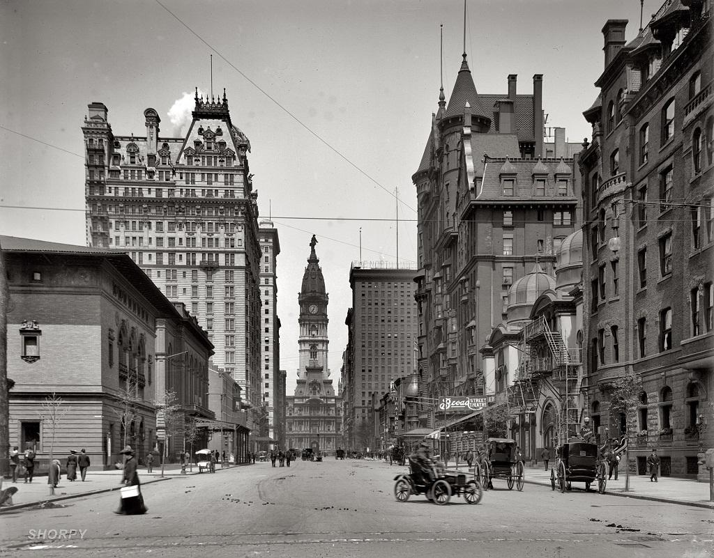 13140 Американские мегаполисы сто лет тому назад