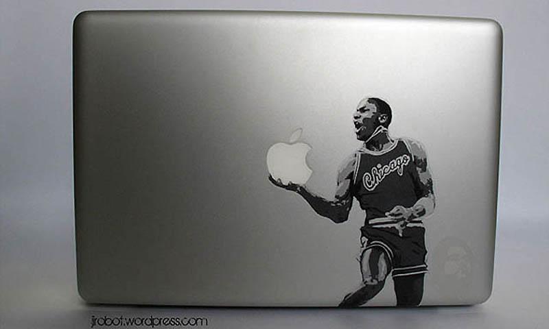 13141 50 креативных наклеек на MacBook