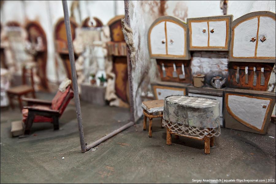 13145 Закулисье или Выставка миниатюрных театральных декораций