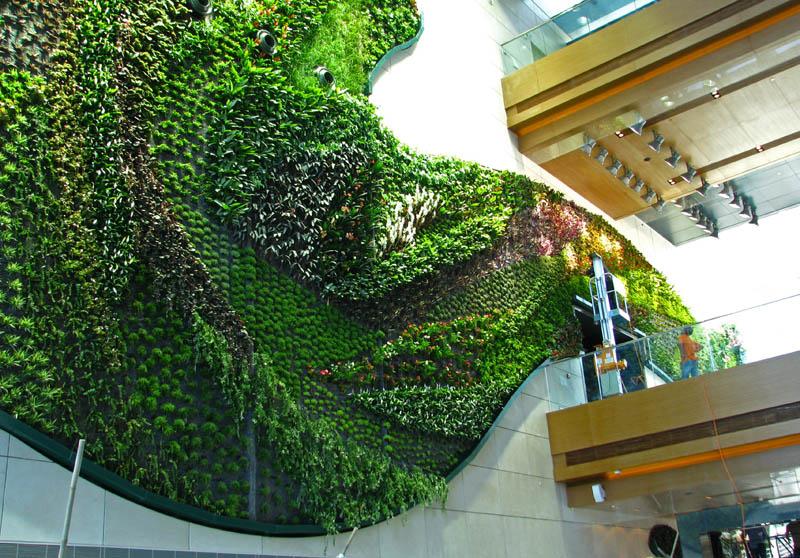 1333 15 вертикальных садов по всему миру