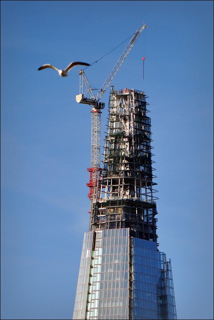 1339 Строительство небоскреба Shard London Bridge