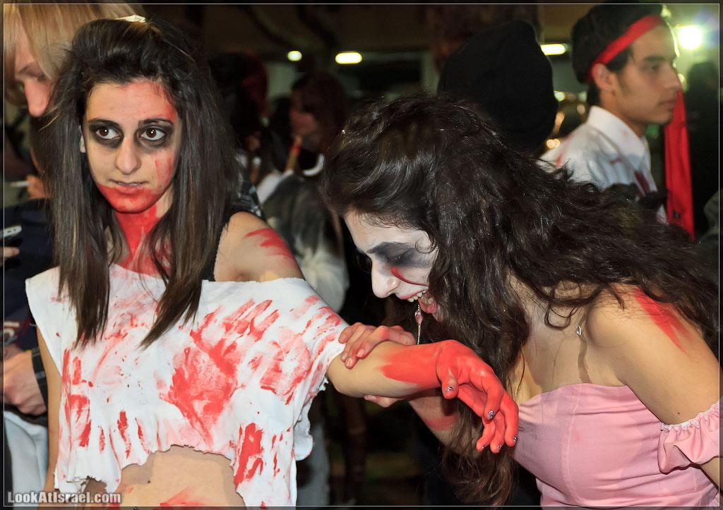 1343 Зомби на улицах Тель Авива – Zombie Walk Tel Aviv