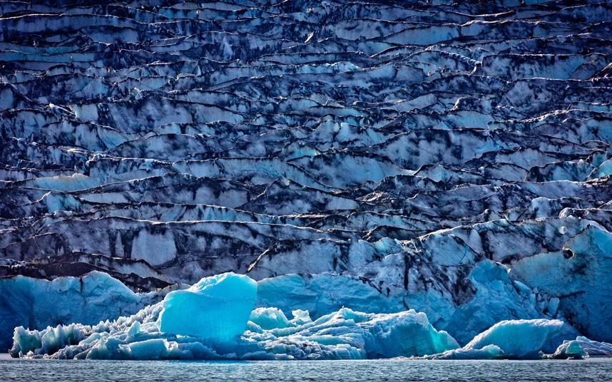 1384 Голубые айсберги и ледники Исландии