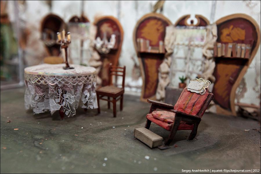 14134 Закулисье или Выставка миниатюрных театральных декораций