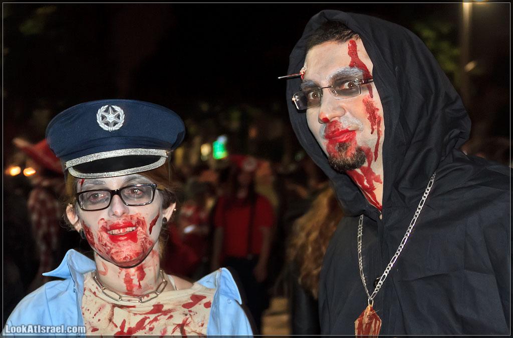 1440 Зомби на улицах Тель Авива – Zombie Walk Tel Aviv