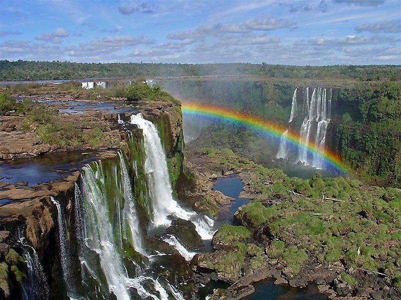 Водопад игуасу – большая вода на