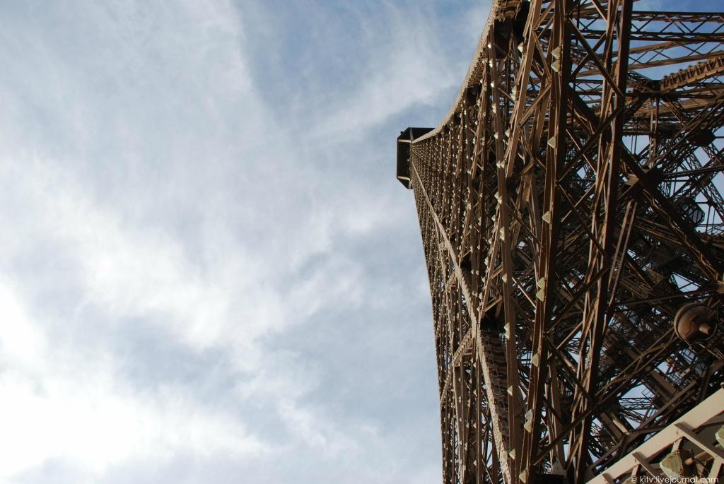 1475 Как выглядит Париж с Эйфелевой башни?
