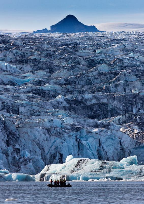 1480 Голубые айсберги и ледники Исландии