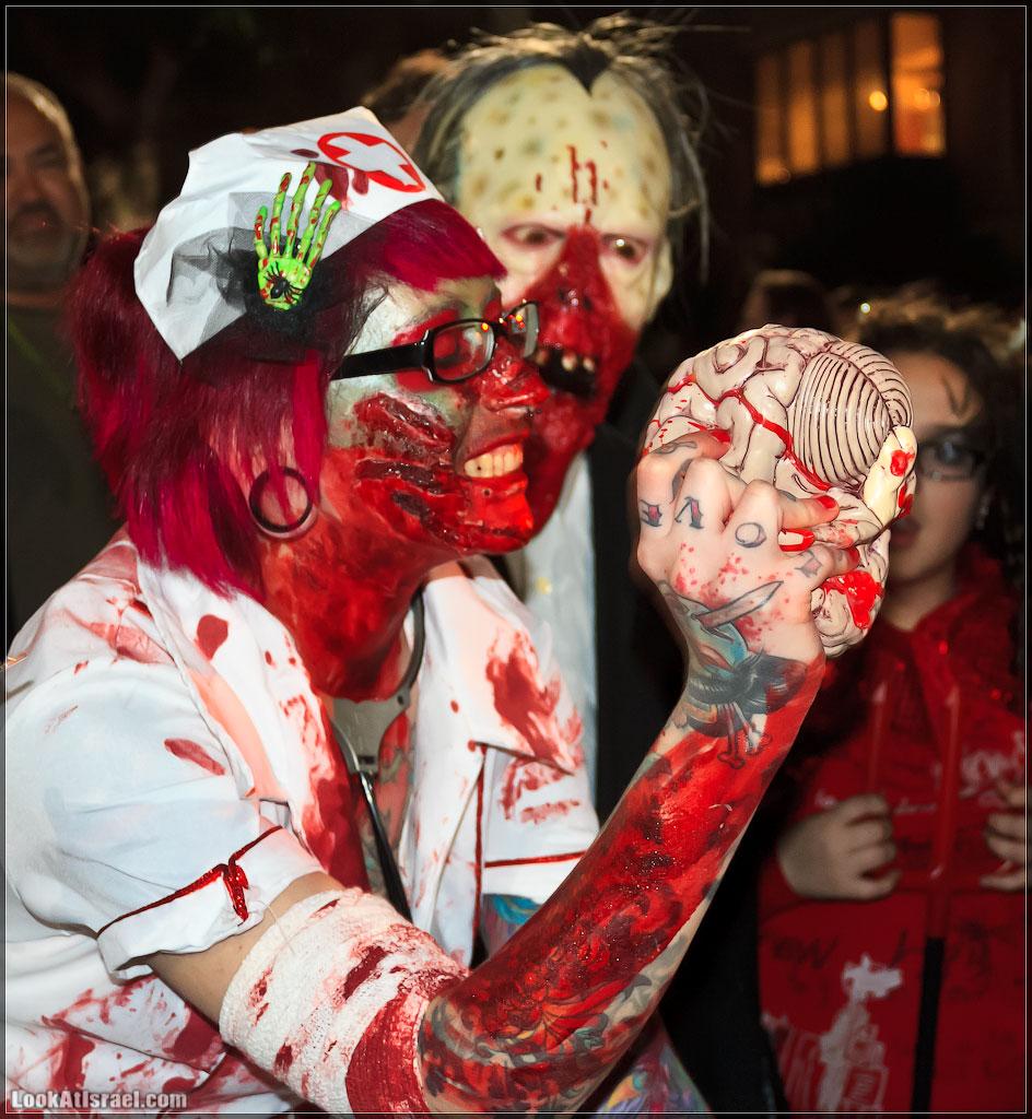 1538 Зомби на улицах Тель Авива – Zombie Walk Tel Aviv