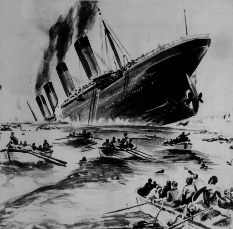1572 Титаник   как это было