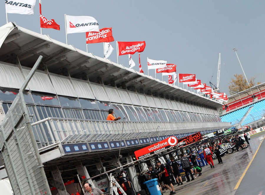1577 За кулисами Гран При Австралии 2012: фоторепортаж